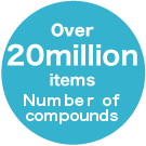 Number of compounds 700 million items